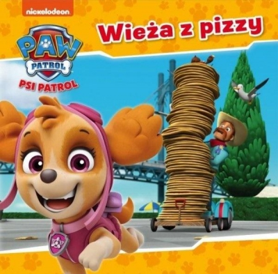 Psi Patrol 32 Wieża z pizzy praca zbiorowa
