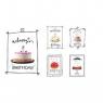 Zestaw kart urodzinowych Unicef Tort Urodzinowy