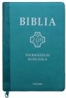 Biblia pierwszego Kościoła z paginatrami turkusowa
