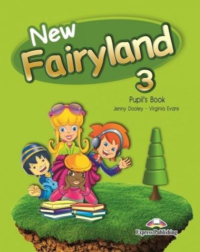 New Fairyland 3. Pupil's Book. Podręcznik Jenny Dooley, Virginia Evans