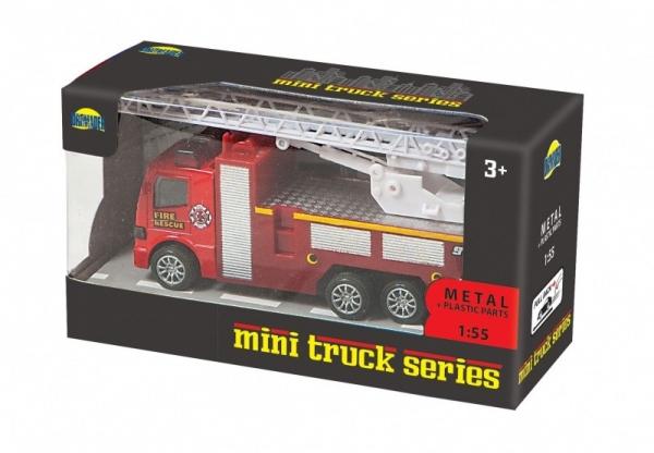 Ciężarówka metalowa w pudełku (02331)