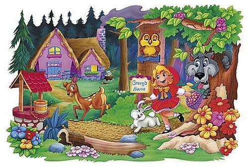 Czerwony Kapturek Puzzle Maxi 20