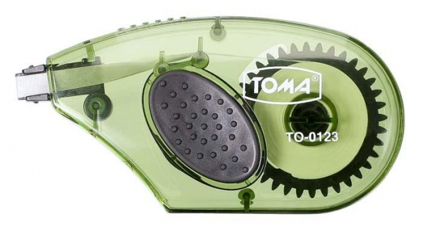 Korektor w taśmie 5mm*8m boczny TOMA