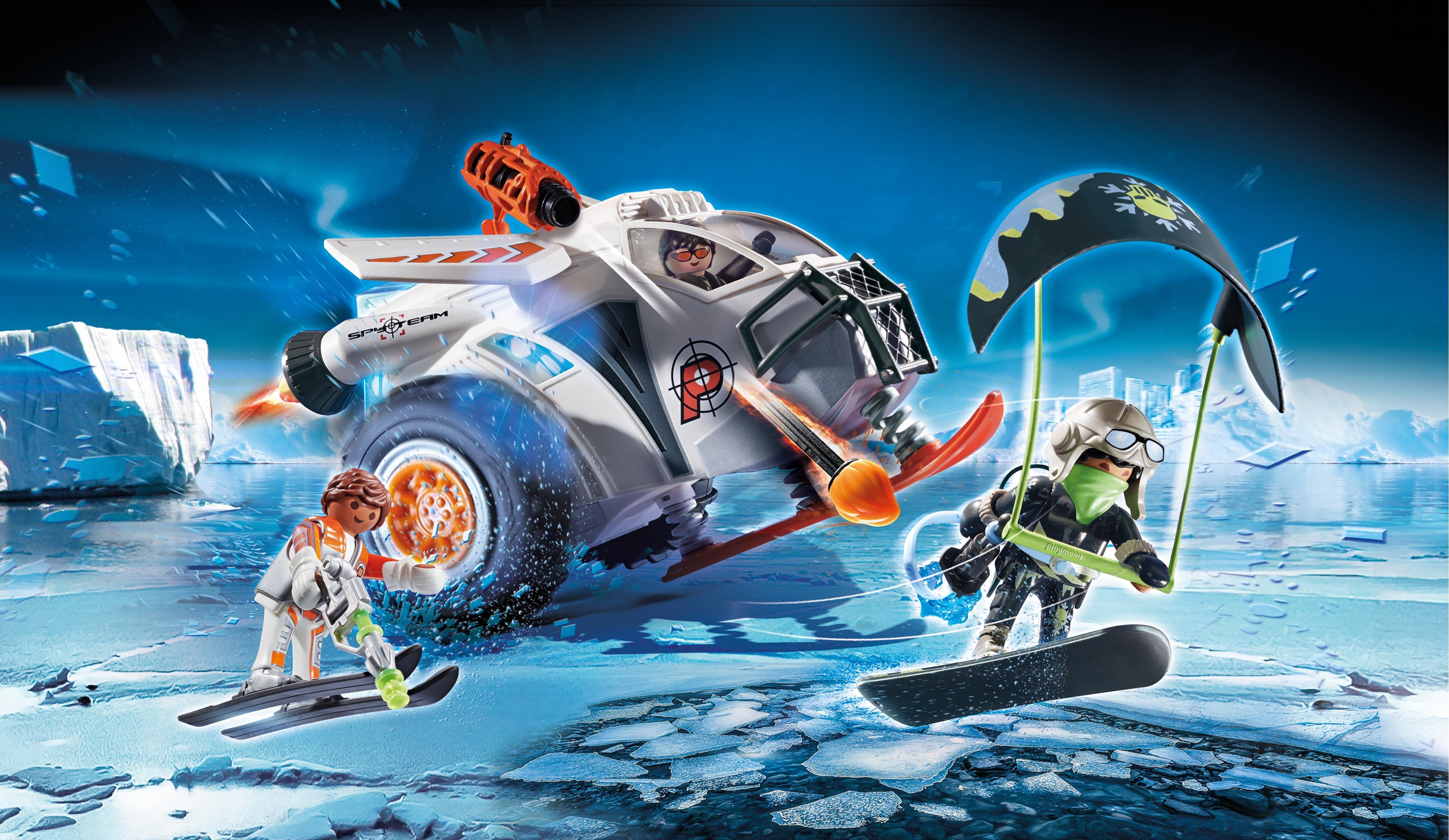 Playmobil Top Agents: Spy Team Pojazd śnieżny (70231)