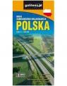 POLSKA - mapa samochodowo-krajoznawcza  1:650 000 wyd. X Opracowanie zbiorowe