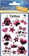 Tatuaże różowe czaszki