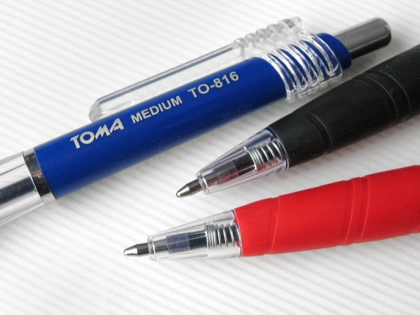 Długopis Medium - czarny (TO-038 32)