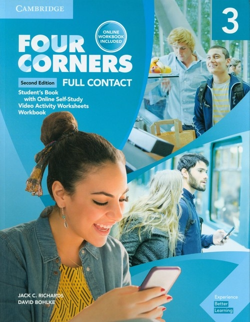 Four Corners 3 Super Value Pack (Full Contact with Self-study and Online Workbook) Richards Jack C., Bohlke David
