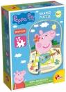 Puzzle kształtne Peppa i muzyka - 12 elementów (304-68319)