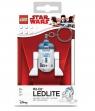 Brelok do kluczy z latarką LEGO®: Star Wars - R2D2 (LGL-KE21)