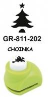 Dziurkacz ozdobny mały 1,8cm Choinka GRAND