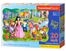 Puzzle Maxi Konturowe 20: Snow White and the Seven Dwarfs