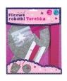 Filcowe Robótki - Torebka okrągła Stars STnux (3320)