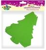 Dekoracje piankowe, zielone choinki (282952)