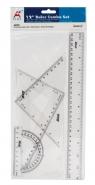 Zestaw kreślarski Beifa-Aplus z linijką 30cm Etui (ARS010)