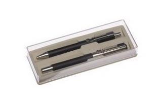 Zestaw a'Graff pióro + długopis czarny