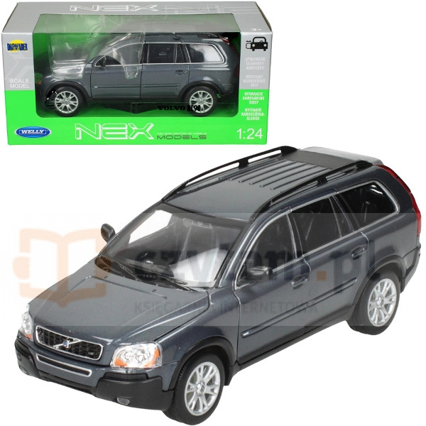 WELLY Volvo XC90, grafitowy (WE22460)