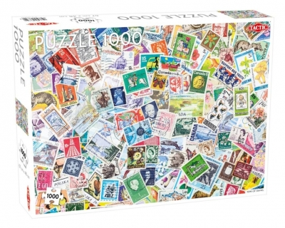 Puzzle Tons of Stamps 1000