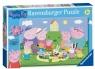 Ravensburger, Puzzle 35: Świnka Peppa - Piknik (086320)
