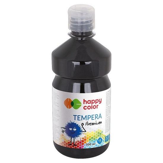 Farba tempera 500 ml - czarna (305831)