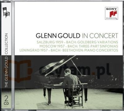 Glenn Gould in Concert: Salzburg 1959 (Bach), Moscow 1957 (Bach), Lenningrad 1957 (Bach, Beethoven)