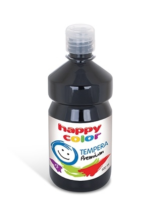 Farba Tempera Premium 500ml - czarny