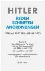 Hitler Reden Schrif  2/1 Adolf Hitler