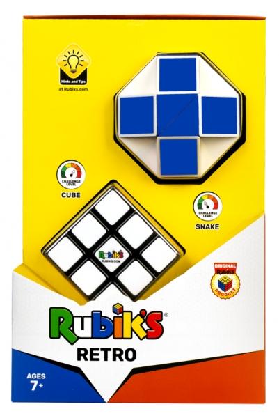 Kostka Rubika - Zestaw Retro (Snake + 3x3) (RUB3029)