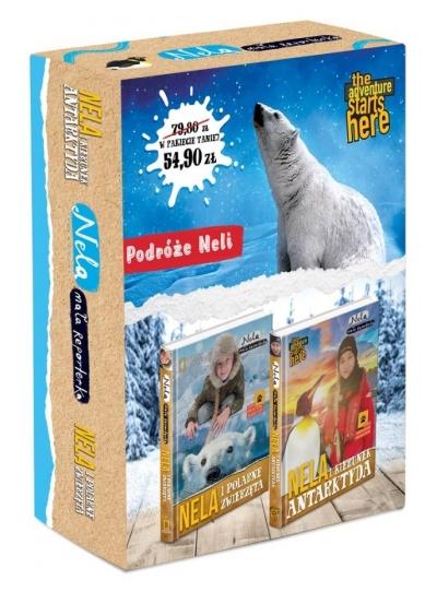 Pakiet: Nela i zwierzęta polarne / Nela i kierunek Antarktyda Nela Mała Reporterka