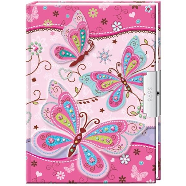 STARPAK Pamiętnik Blue Butterfly