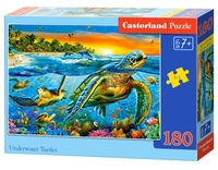 Puzzle Underwater Turtles 180 (B-01321)