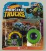 Hot Wheels Monster Trucks: Pojazd 1:64 - Bad Cattitude (FYJ44/GJD95)