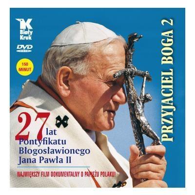 Przyjaciel Boga 2 - płyta DVD Biały Kruk kard. prof. Stanisław Nagy, Adam Bujak i inni