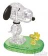 Snoopy i Woodstock Crystal Puzzle (Uszkodzone opakowanie) (1322)