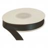 Wstążka Titanum Craft-Fun Series satynowa czarna 12 mm 25 m