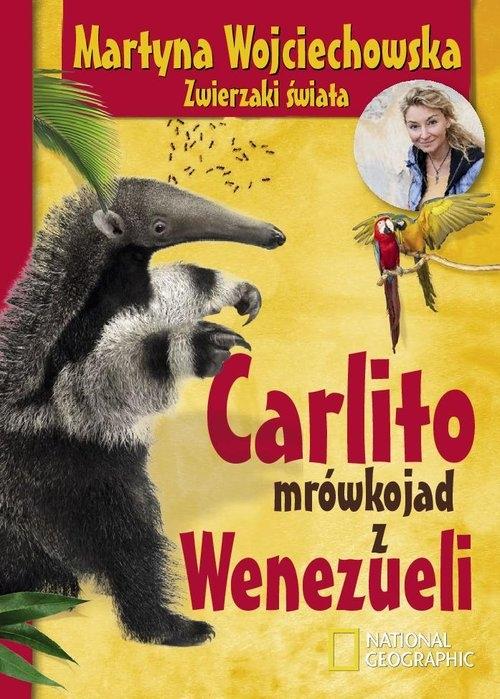 Carlito mrówkojad z Wenezueli Wojciechowska Martyna