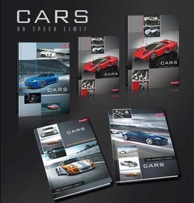 Blok techniczny A4/10K 10 szt. Dream Cars