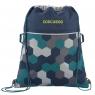 Coocazoo, worek na buty RocketPocket II FIX, kolor: Blue Geometric Melange