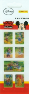 Naklejki 2 w 1 Mini Mickey Mouse & Friends (7000094a0312)