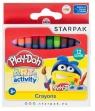 Kredki woskowe Play-Doh - 12 kolorów (453892)