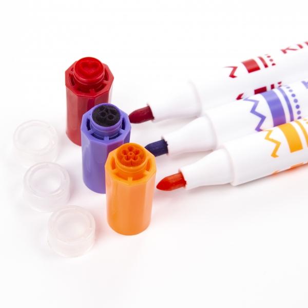 Pisaki ze stempelkami Kidea, 10 kolorów (DRF-079322)