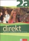 Direkt 2A Podręcznik z ćwiczeniami do języka niemieckiego z płytą CD Motta Giorgio, Ćwikowska Beata