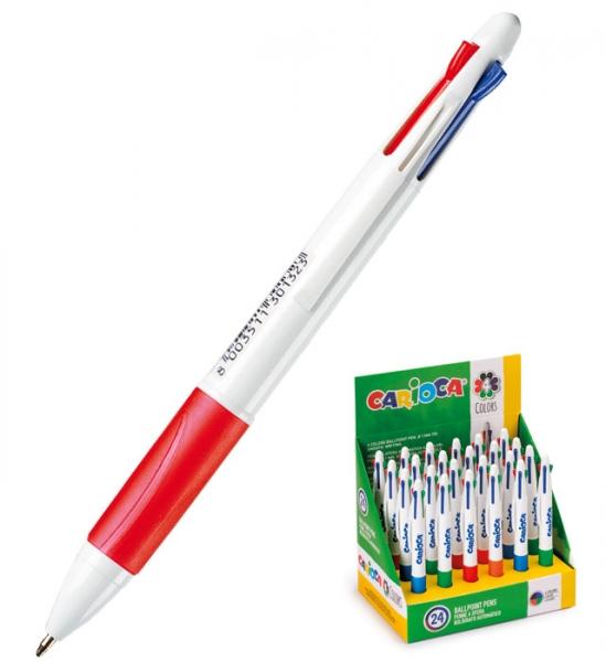 Długopis Carioca, 4 kolory (40146)