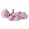 Lalka gumowa - ubranko różowe 25,5 cm (101323)