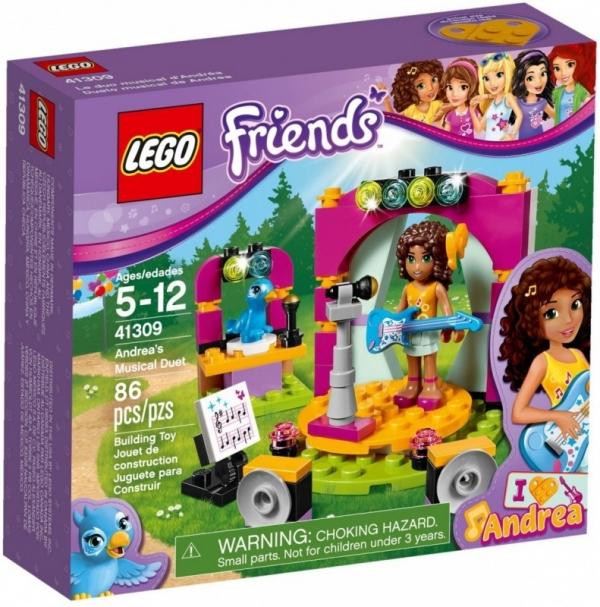 Lego Friends: Muzyczny duet Andrei (41309)