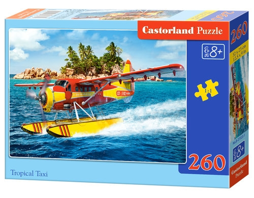 Puzzle Tropical Taxi 260 elementów