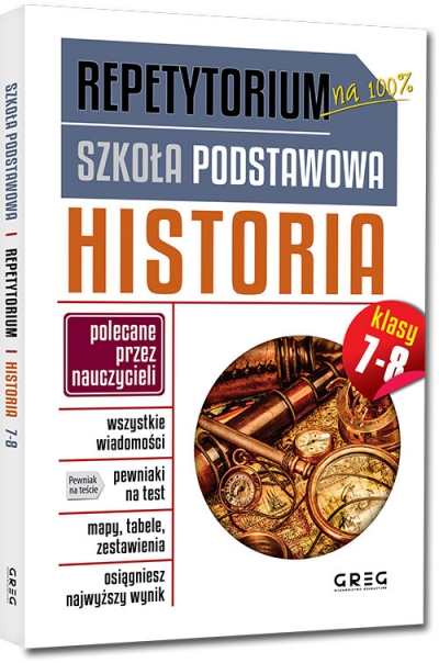 Repetytorium - szkoła podstawowa. Historia, kl. 7-8 (RPH78) Józków Beata