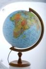 Globus polityczno-fizyczny podświetlany, dekoracyjny 320 mm