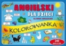Angielski dla dzieci Słownik obrazkowy Kolorowanka 240 naklejek