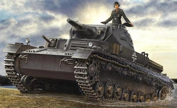 Model do sklejania PzKpfw IV Ausf D/Tauch (80132)